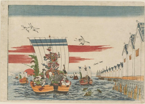 Artworks by Utagawa Toyoharu (1735-1814) (136 работ)