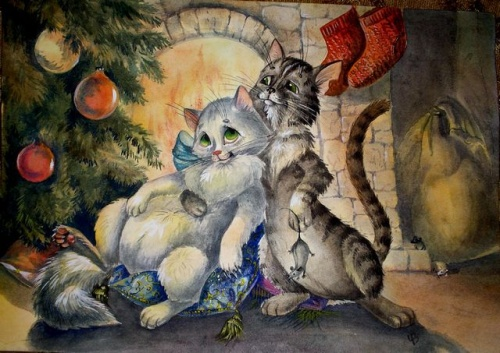 Работы иллюстратора - Виктория Чалова (161 фото)