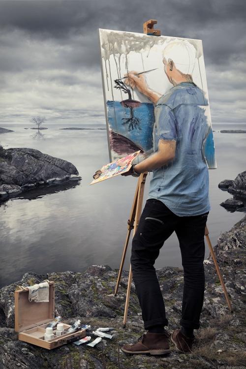 Работы художника - Эрик Йоханссон (51 фото)
