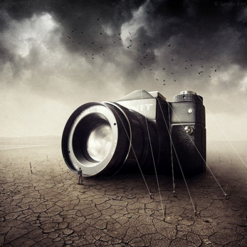Фотоманипуляции Саролты Бан (Sarolta Ban) (52 фото)