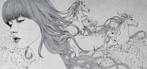 Art. Illustrations №1 (71 фото)