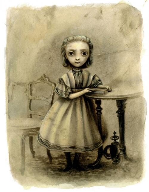 Французский иллюстратор Benjamin Lacombe (Бенджамин Лакомб) (617 работ)