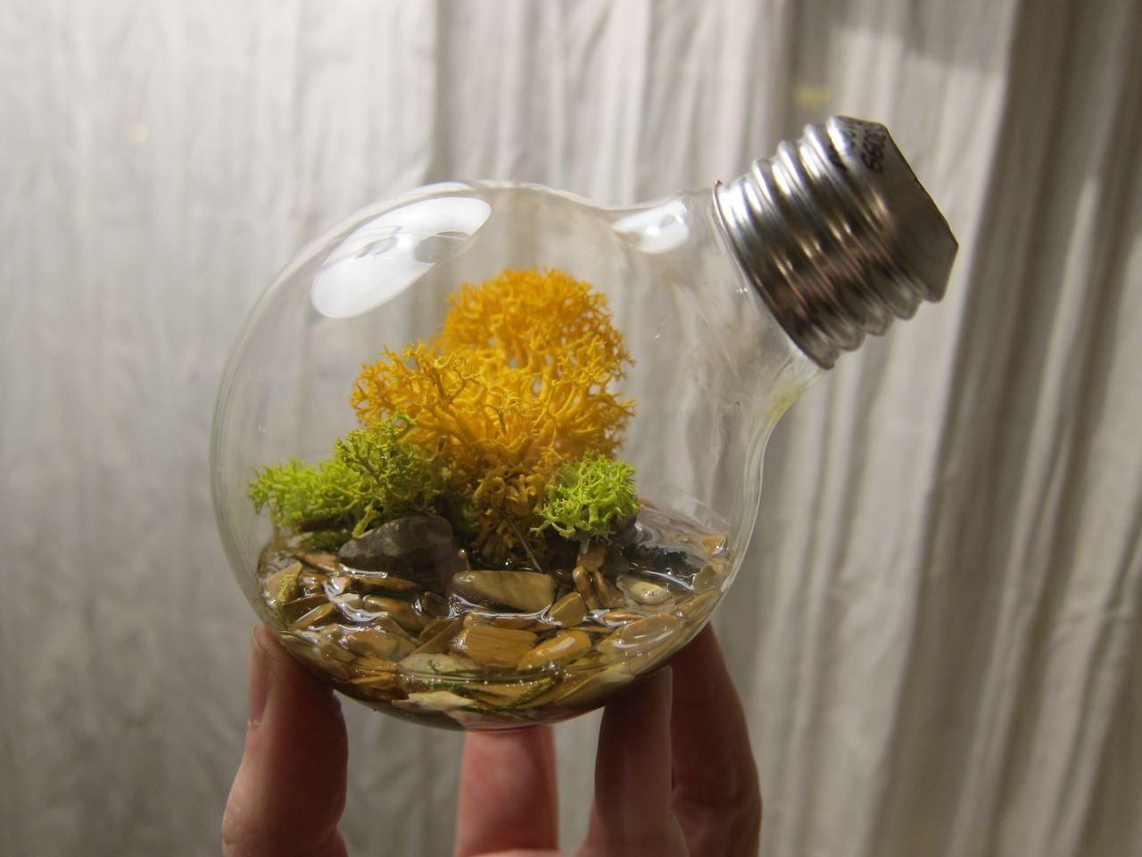 Как сделать свой мир в лампочке
