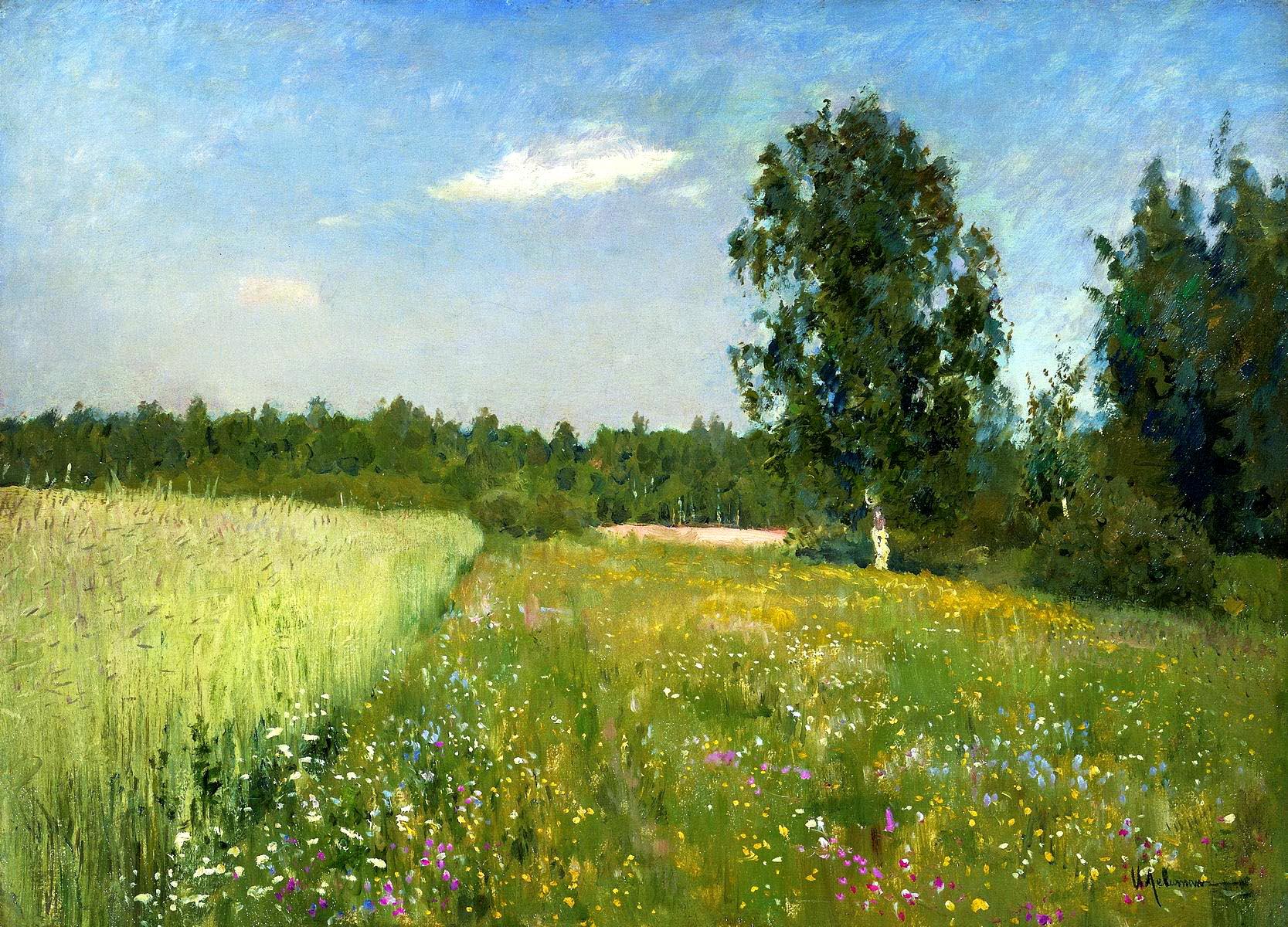 Картинка русского пейзажа