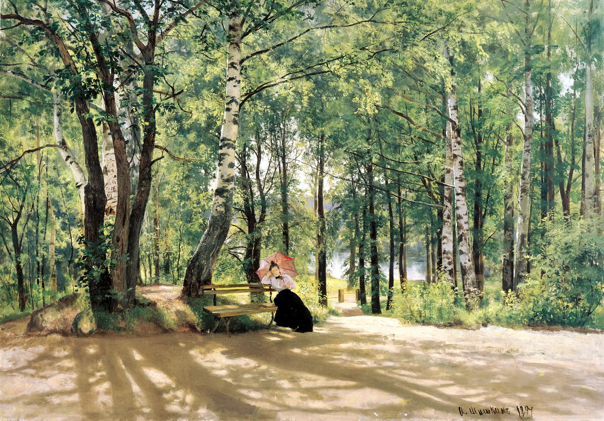 Пейзажи природы на полотнах русских