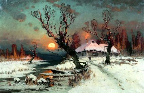 Пейзажи природы на полотнах русских художников (140 работ)
