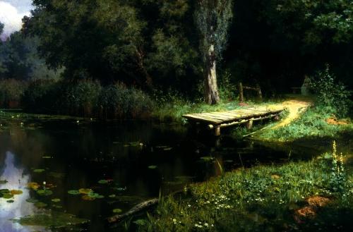 Пейзажи природы на полотнах русских художников (140 фото)