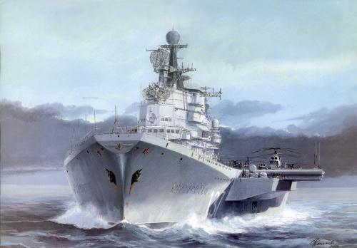 Боевые корабли мира (21 работ)