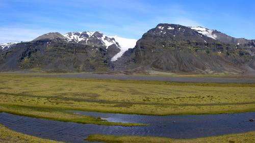 Ледяные пещеры ледника Ватнаёкюдль (34 фото)
