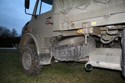 Фотообзор - немецкий грузовик Mercedes Unimog U4000 (44 фото)