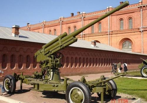 Фотообзор - советская 85-мм зенитная пушка 52-К (33 фото)