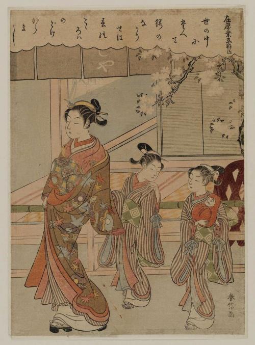 Artworks by Suzuki Harunobu (1724-1770) (690 работ) (2 часть)