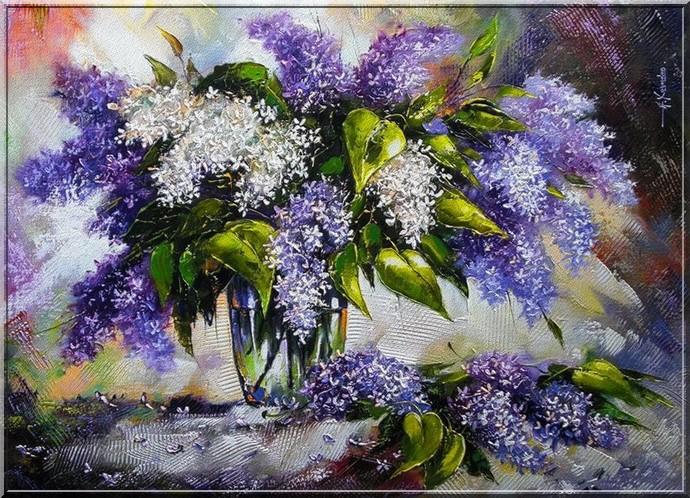 Фото цветов изобразительного искусства 120