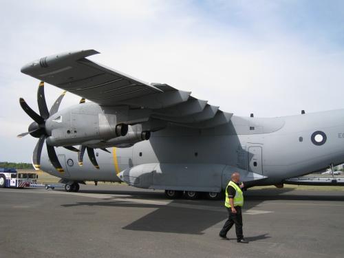 Фотообзор - европейский тяжелый транспортный самолетAirbus A400M Grizzly (43 фото)