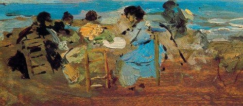 Художник Ignacio Pinazo Camarlench (1849-1916) (50 работ)