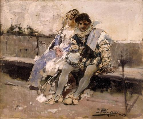 Художник Ignacio Pinazo Camarlench (1849-1916) (50 фото)