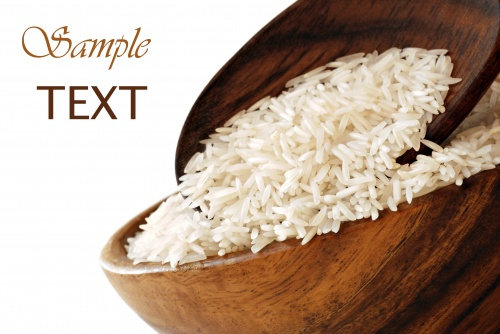 Stock Photos - Bowls of Uncooked Rice over (6 фото)
