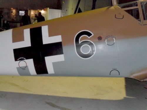 Фотообзор - немецкий истребитель Messerschmitt Bf109G (21 фото)