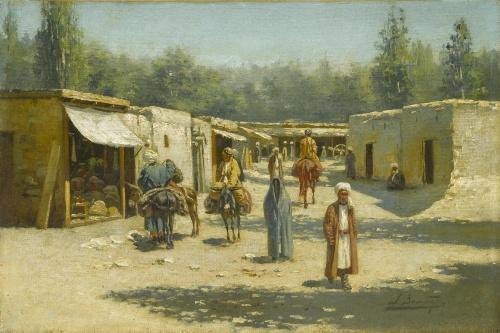Русский живописец, акварелист - Рихард-Карл Карлович Зоммер (75 работ)