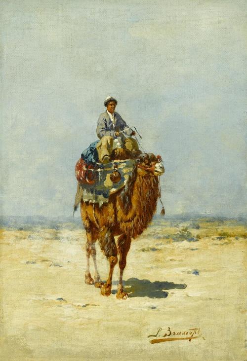 Русский живописец, акварелист - Рихард-Карл Карлович Зоммер (75 фото)