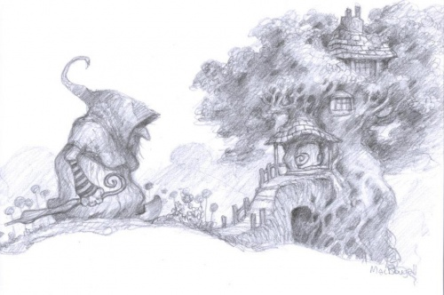 Этот Чудесный Рисованный Мир - 10 (152 работ)