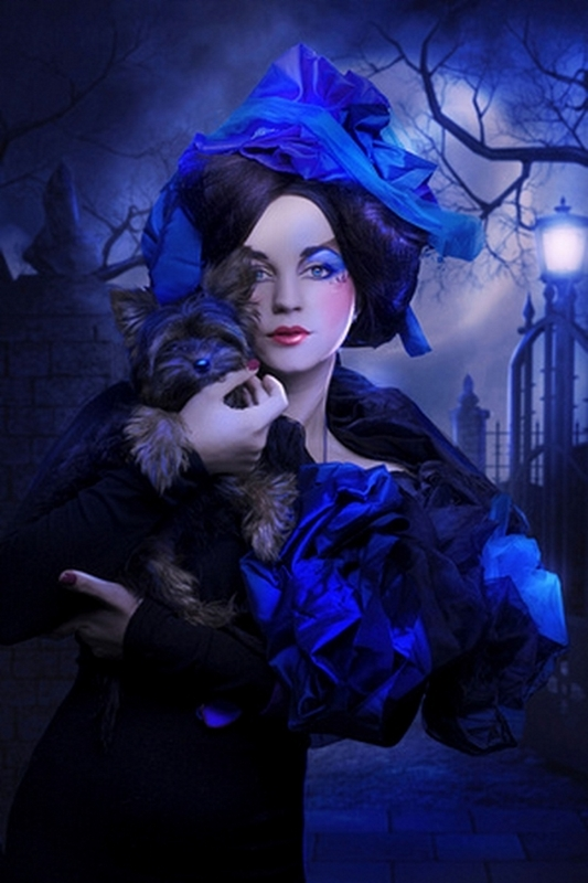 Костюмы мальвины на хэллоуин
