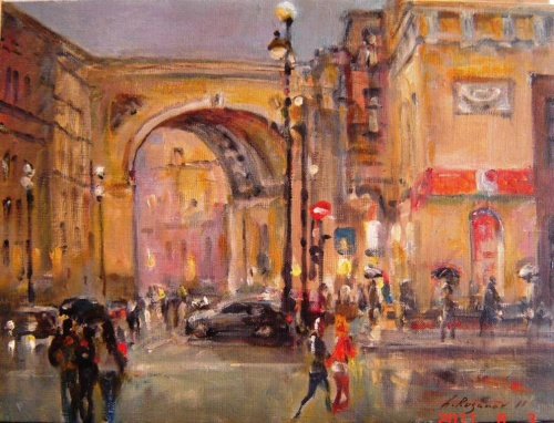 Коллекция работ художника Александра Русанова (42 работ)