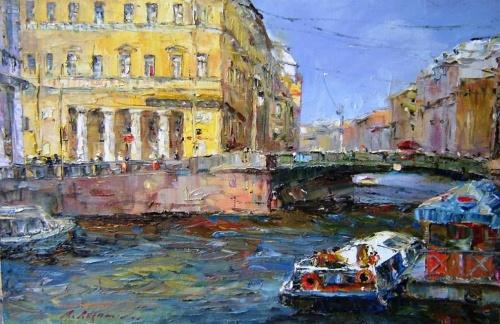 Коллекция работ художника Александра Русанова (42 фото)