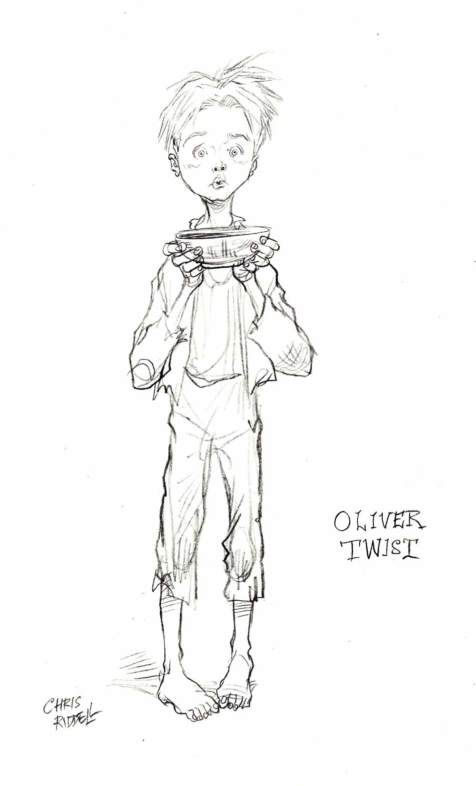 oliver twist coloring pages - photo#13