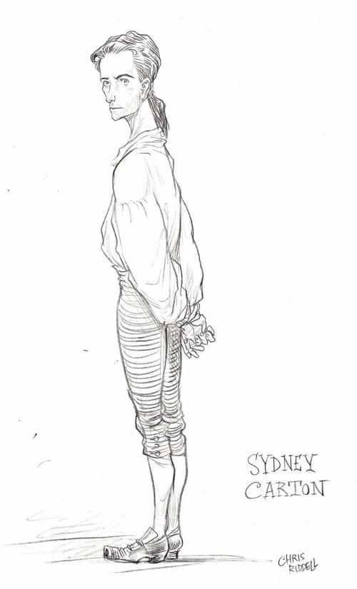 Английский иллюстратор Chris Riddell (202 работ)