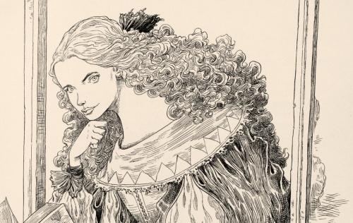 Английский иллюстратор Chris Riddell (202 фото)