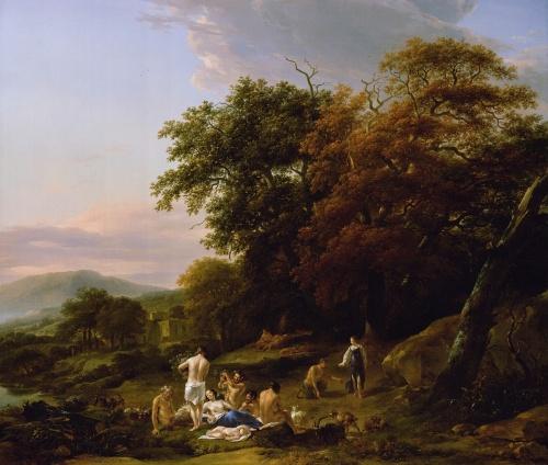 Николас Питерс Берхем (Nicolaes Pietersz Berchem) (1620-1683) (200 работ)