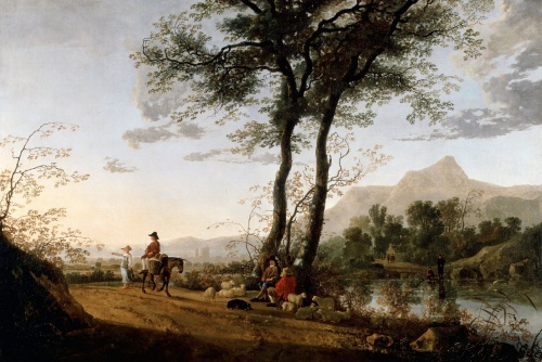 Artworks by Aelbert Cuyp (180 работ)