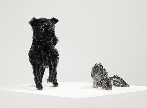 Скульптуры животных из стекла... Marta Klonowska (19 фото)