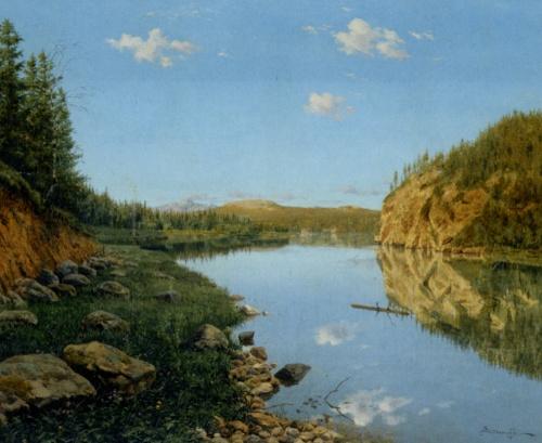 Коллекция работ художника Бориса Бессонова (18 фото)