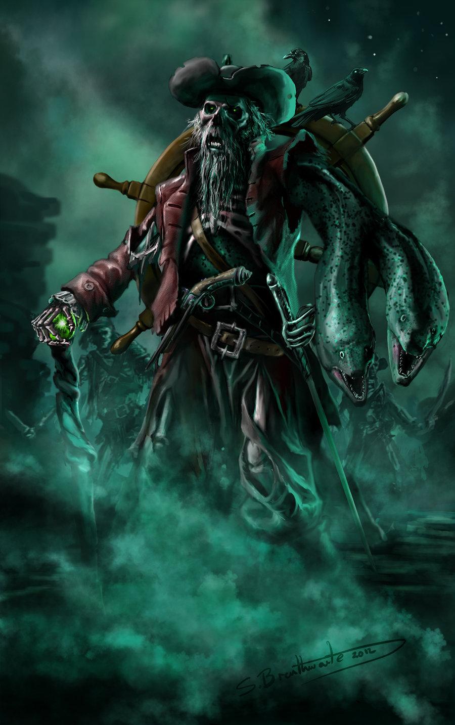 Pirate artwork