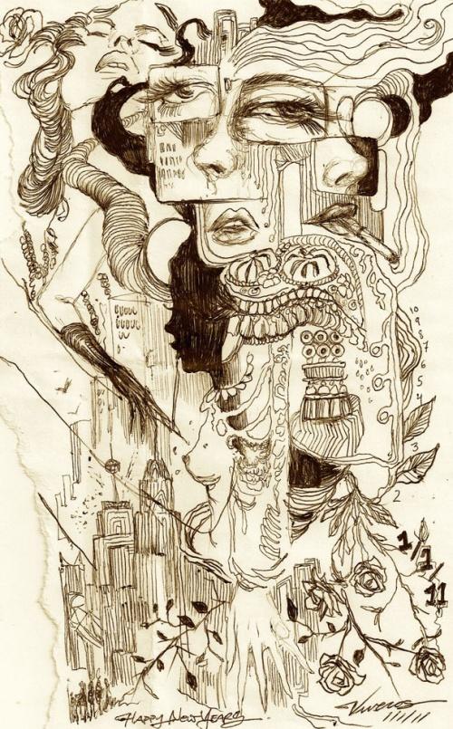 Этот Чудесный Рисованный Мир - 17 (200 работ)