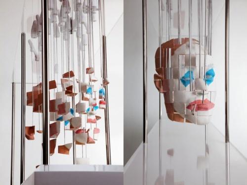 Анаморфные скульптуры Jonty Hurwitz (25 фото)