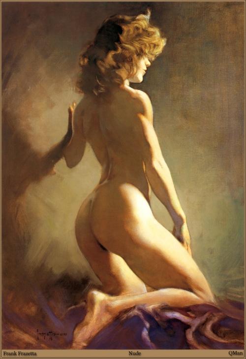 Работы художника - Frank Frazetta (152 фото)