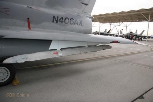 Фотообзор - израильский истребитель Kfir C2 (N406AX) (51 фото)