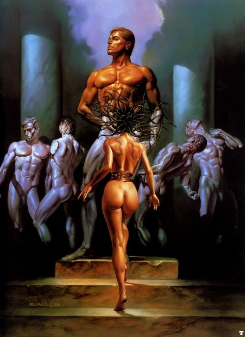 Фэнтезийное искусство Бориса Валлейо / Fantasy art Boris Vallejo (389 фото)