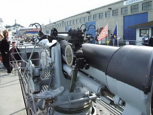"""Фотообзор - американская пушка 4""""/50 Mark 12 (27 фото)"""