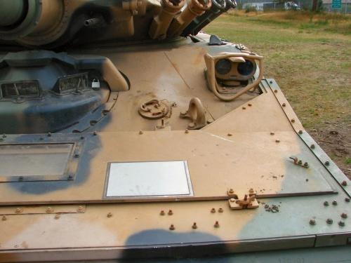 Фотобзор -американский легкий танк M551 Sheridan (61 фото)