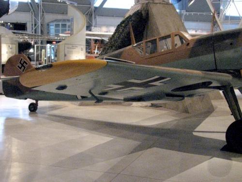 Фотообзор - немецкий истребитель Messerschmitt Bf109 F-4 Walk Around (28 фото)