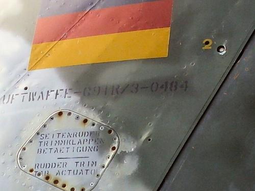 Фотообзор - итальяский истребитель Фотообзор Fiat G-91R3 (32 фото)
