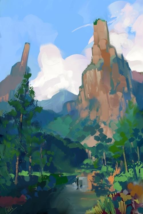 Этот Чудесный Рисованный Мир - 105 (101 работ)