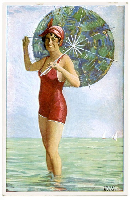 Images of Women on Old Postcards (2325 работ)