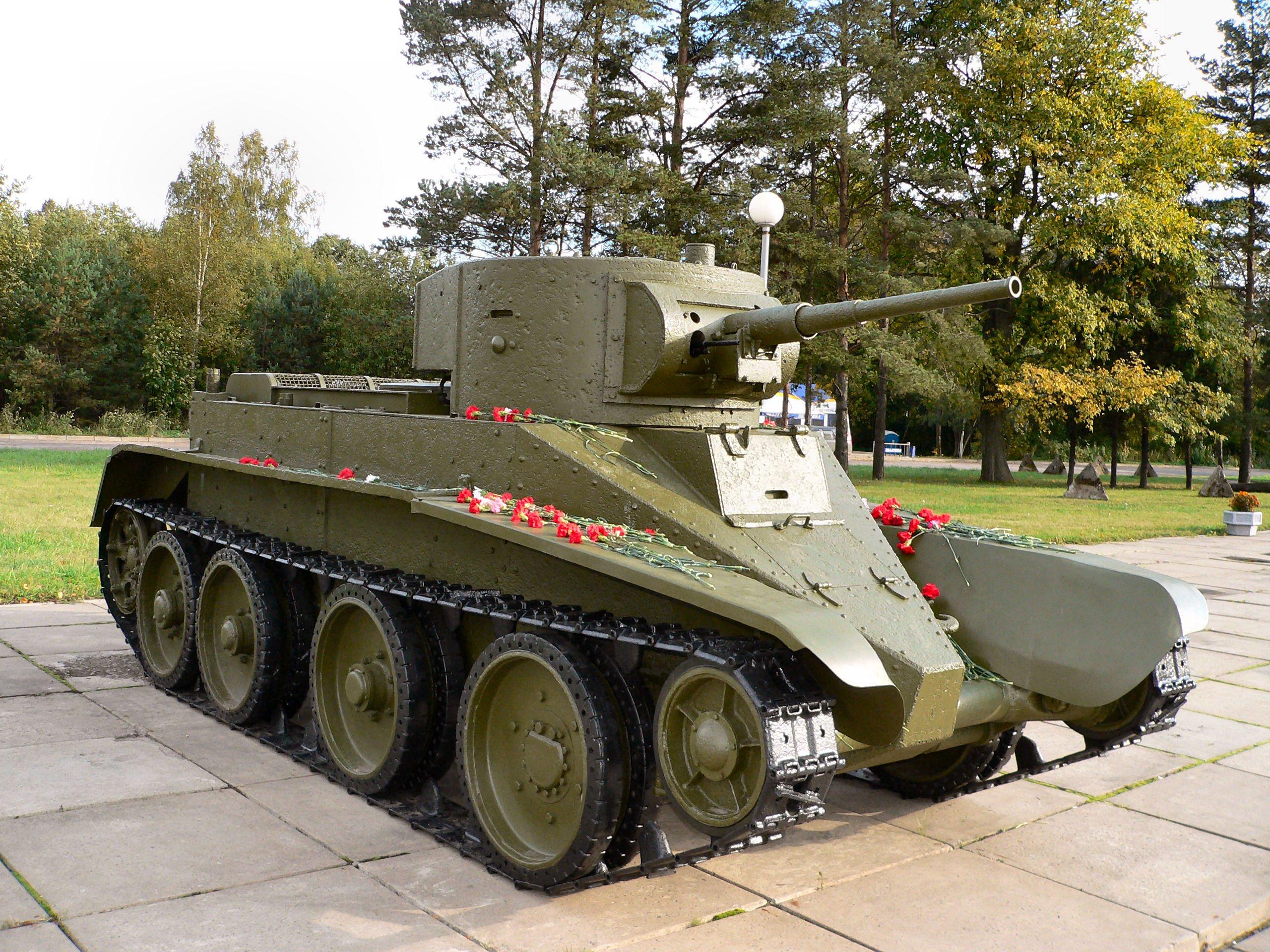 фото всех советских танков ничего