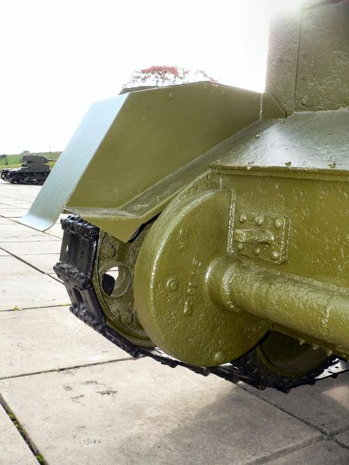 Фотообзор - советский легкий танк БТ-5 (350 фото)