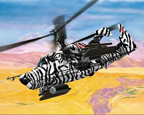 Рисованные вертолеты (32 работ)